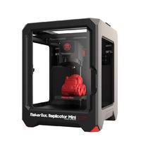 3D Принтер MakerBot Replicator Mini3D Принтеры<br>3D Принтер MakerBot Replicator MiniФишка этого устройства именно в его размерах.Самый популярный домашний 3D ПринтерКол-во головок: 1 Область печати: 100 x 100 x 125&amp;nbsp; Расходники: PLA, 1.75 мм Толщина слоя: 70 микрон Скорость выращивания: 24 см&amp;sup3;/час Скорость печати: 30мм/сек Точность: 2,5 микрометров по Z-оси, 11 микрометров по X-оси, 11 микрометров по Y оси Материнская плата: MakerBotMightyBoard Характеристики двигателя: шаговое исполнение, 1/16, 5 осей Монитор: ЖК Управление: многоповоротная панель Звуковой сигнал: пьезоэлектрика Цветопередача: управляемая систем, RGB Программное обеспечение: MakerWare&amp;trade; Bundle 1.0 Поддерживаемая ОС: Mac OSX, Windows, Linux Подсоединение: USB, SD Возможные форматы файлов: .obj, .thing, .stl Материал корпуса: сталь с акриловым напылением Вес, кг: 10 Габариты, мм:&amp;nbsp;295х310х381 Гарантия: 1 год<br><br>Кол-во экструдеров: 1<br>Область построения (мм): 100х100х125<br>Толщина слоя: 70 микрон<br>Толщина нити: 1,75 мм<br>Расходники: PLA<br>Платформа: без подогрева<br>Гарантия: 1 год<br>Страна производитель: США<br>Диаметр сопла (мм): 0,4