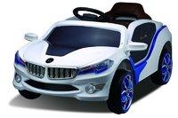 Электромобиль BMW O002OO VIP белыйДетские электромобили<br>ЭЛЕКТРОМОБИЛЬ BMW O002OO VIP С ДИСТАНЦИОННЫМ УПРАВЛЕНИЕМ&amp;nbsp;БЕЛЫЙ ЦВЕТСветовые и звуковые эффекты, подсветка радиаторной решетки, диодная подсветка по корпусу авто и заднего стекла, амортизаторы.&amp;nbsp;3D-подсветка капота.Пульт управления: индивидуальный (настраивается по Bluetooh)Колеса: каучуковыеСиденье: кожаное, 5-ти точечный ремень безопасностиОткрываются двери. Заводится с ключа.Скорость: 2 скорости вперед, одна назад. До 5км/чВход для MР3Размер собранной модели: 105*59*45см; вес : 12,5кг; макс. нагрузка: 30 кгАккумулятор: 6V/4,5AH*2Редуктор: 2*12V<br><br>Марка: BMW<br>Модель: O002OO VIP<br>Сиденья: Кожаное<br>Колёса: Каучуковые<br>Кол-во мест: 1<br>Цвет: Белый