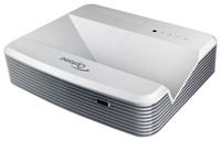 Мультимедийный проектор Optoma W320USTМультимедийные проекторы<br>Ультракороткофокусный проекторЯркое изображение ? 4000 ANSI лмРазрешение WXGA, контрастность 20,000:1Два входа HDMI и встроенный динамик 16 ВтCrestron RoomView? ? управление и мониторинг по RJ45<br><br>Объектив: Ультракороткофокусный<br>Тип устройства: DLP<br>Класс устройства: стационарный<br>Рекомендуемая область применения: для интерактивной доски<br>Реальное разрешение: 1280x800