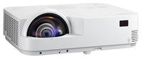 Мультимедийный проектор NEC M333XSМультимедийные проекторы<br><br><br>Объектив: Короткофокусный<br>Тип устройства: DLP<br>Класс устройства: портативный<br>Рекомендуемая область применения: для интерактивной доски<br>Реальное разрешение: 1024x768
