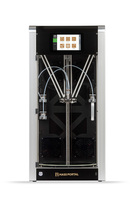 3D Принтер Pharaoh XD 303D Принтеры<br>Кол-во экструдеров: 3Область построения (мм):300x300Толщина слоя:&amp;nbsp;10&amp;nbsp;микронТолщина нити:&amp;nbsp;1.75 ммРасходники:&amp;nbsp;ABS, HIPS, Nylon, PETG, PLA, PVA, RubberПлатформа:&amp;nbsp;с подогревомСтрана производитель:&amp;nbsp;ЛатвияГарантия:&amp;nbsp;1 год.<br><br>Кол-во экструдеров: 3<br>Область построения (мм): 300х300<br>Толщина слоя: 10 микрон<br>Толщина нити: 1,75 мм<br>Расходники: ABS, HIPS, Nylon, PETG, PLA, PVA, Rubber<br>Платформа: с подогревом<br>Гарантия: 1 год<br>Страна производитель: Латвия<br>Диаметр сопла (мм): 0,2 мм