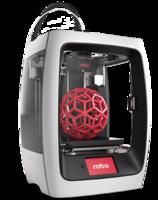 3D принтер Robo R23D Принтеры<br>Технология:&amp;nbsp;FDM&amp;nbsp;Толщина слоя:&amp;nbsp;20 микрон&amp;nbsp;Количество экструдеров:&amp;nbsp;1&amp;nbsp;Размер области построения:&amp;nbsp;203.2х203.2 х254&amp;nbsp;мм&amp;nbsp;&amp;nbsp;Диаметр стандартного сопла:&amp;nbsp;0,4 мм&amp;nbsp;Диаметр филамента:&amp;nbsp;1,75 мм&amp;nbsp;Типа пластика:&amp;nbsp;PLA, PVA, ABS, HIPS, SBS, NYLON, FLEXМаксимальная температура хотэнда:&amp;nbsp;260&amp;deg;C&amp;nbsp;Максимальная температура столика:&amp;nbsp;130&amp;deg;C&amp;nbsp;Скорость печати:&amp;nbsp;80 мм/с<br><br>Кол-во экструдеров: 1<br>Область построения (мм): 203.2х203.2 х254<br>Толщина слоя: 20 микрон<br>Толщина нити: 1,75 мм<br>Расходники: ABS, HIPS, Nylon, PETG, PLA, PVA, Rubber<br>Платформа: с подогревом<br>Гарантия: 1 год<br>Страна производитель: США<br>Технология печати: FDM