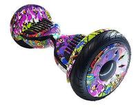 Гироскутер Smart Balance PRO PREMIUM 10.5 V2 с APP самобаланс (граффити фиолетовый)Гироскутеры<br>Max скорость: 20 км/чзапас хода: 20 кмразмер колес: 10Max вес: 20 кг - 130 кгмасса: 13,5 кг<br><br>Цвет: граффити фиолетовый<br>Максимальная скорость: 20 км/ч<br>Дальность пробега на одной зарядке: 20 км<br>Размер колес: 10 дюймов<br>Вес: 13 кг<br>Максимальный угол подъема: 15 градусов<br>Радиус разворота: 360 градусов<br>Габариты: 584х186х178 мм<br>Мощность: 2 колеса по 500 Вт