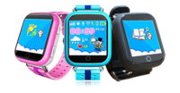 Детские умные часы Smart Baby Watch Q100 (GW200S) GPS трекером ГолубыеДетские часы с GPS<br>Трекер местоположения GPS+LBS+WiFiСтандарт сим карты: nanoSIM с поддержкой 2G (в комплект не входит)Совместимость со смартфонами на базе Android и iOSГарантия: 12 месяцевСовместимость сотовых операторов: Билайн, МТС, Мегафон<br>