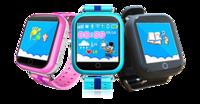 Детские умные часы Smart Baby Watch Q100 (GW200S) GPS трекером ЧерныеДетские часы с GPS<br>Трекер местоположения GPS+LBS+WiFiСтандарт сим карты: nanoSIM с поддержкой 2G (в комплект не входит)Совместимость со смартфонами на базе Android и iOSГарантия: 12 месяцевСовместимость сотовых операторов: Билайн, МТС, Мегафон<br>