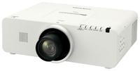 Мультимедийный проектор Panasonic PT-EZ570Мультимедийные проекторы<br>Проектор Panasonic PT-EZ570 рекомендован для установки в учебных аудиториях, конференц-залах, офисах и школах.&amp;nbsp;<br><br>Объектив: Стандартный<br>Тип устройства: LCD x3<br>Класс устройства: стационарный<br>Рекомендуемая область применения: для офиса<br>Реальное разрешение: 1920x1080 (Full HD)