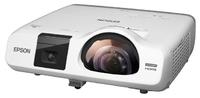Интерактивный проектор Epson EB-536WiМультимедийные проекторы<br>Короткофокусный интерактивный проектор Epson EB-536Wi сочетает в себе функционал проектора и интерактивной доски.<br><br>Объектив: Короткофокусный<br>Тип устройства: LCD x3<br>Класс устройства: портативный<br>Рекомендуемая область применения: интерактивный<br>Реальное разрешение: 1280x800