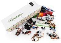 Набор для самостоятельной сборки роботов Kit de RoboticaРобототехника<br>Набор Kit de Robotica:&amp;nbsp;Тип: электронный конструкторМодель: Kit de RoboticaПлатформа: Arduino UnoКоличество деталей: 14<br>