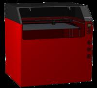 3D Принтер Magnum RX-13D Принтеры<br>Технология 3D печати: FFF (наплавление расплавленного пластика)Габариты рабочей области: 1400 х 1200 х 1200 ммПодогреваемый рабочий стол: до 110 градусовКоличество экструдеров: 2Максимальная температура экструзии: 310СДиаметр сопла базовый: 0.6 ммТолщина слоя при сопле 0.6 мм: 0,2-0,5 ммДополнительные сопла: от 0.3 до 1.4 ммТочность позиционирования по каждой оси: &amp;plusmn;0,05 ммВнешние габариты: ширина 2,8 м, глубина 1,5 м, высота 2,1 мРасходный материал: пластиковая нить диаметром 1,75мм.Тип пластика: PLA, остальные полимеры &amp;mdash; экспериментально.<br><br>Кол-во экструдеров: 2<br>Область построения (мм): 1400x1200x1200<br>Толщина слоя: 200 микрон<br>Толщина нити: 1,75 мм<br>Расходники: PLA<br>Платформа: с подогревом<br>Гарантия: 1 год<br>Страна производитель: Россия<br>Диаметр сопла (мм): 0.3-1.4