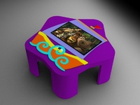 Интерактивный стол Кораблик 32Full HD 4 касанияИнтерактивные столы <br>Сферы применения:Детские сады;Школы;Игровые зоны в Банках, Ресторанах, Отелях.Особенности:интуитивно понятный интерфейс;компактные размеры;возможность установки приложений сторонних разработчиков;275 встроенных игр и приложений.Возможно изменение комплектации исходя из ваших желаний и потребностей.<br>