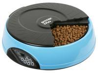 Автокормушка SITITEK Pets Mini (Dark Blue) для животныхАвтокормушки для домашних животных<br>&amp;nbsp;Подойдет для любого типа животных.&amp;nbsp;Имеет возможность установить 4 типа кормления.&amp;nbsp;Работает в режиме реального времени.&amp;nbsp;Обладает возможность записи голосовых сообщений.&amp;nbsp;Голосовое сообщение может проигрываться 4 раза.<br><br>Потребляемая мощность: питание от 4-х алкалиновых батареек размера C , которых хватает более чем на 1 год (в комплект не входят)<br>Вес: 1.8 кг<br>вместимость кормушки: 0,5 л (250-300 г корма)<br>общий объем: 2 л (1-1,2 кг корма)