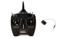 Радиоаппаратура Spektrum DXe+ AR610 DSMX 6 9 channelКвадрокоптеры<br>Spektrum DXe+Скорость передачи данных: 11/22 мсВ комплекте приемник&amp;nbsp;AR610Совместимые модели:&amp;nbsp;вертолет; планер; самолет; квадрокоптерСовместимость практически со всеми моделями фирмы BLADE<br><br>Дисплей: Нет<br>Тип управления: радио 2,4 ГГц