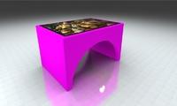 Интерактивный стол Мостик 42Full HD 4 касанияИнтерактивные столы <br>Сферы применения:Детские сады;Школы;Игровые зоны в Банках, Ресторанах, Отелях.Особенности:интуитивно понятный интерфейс;компактные размеры;возможность установки приложений сторонних разработчиков;275 встроенных игр и приложенийВозможно изменение комплектации исходя из ваших желаний и потребностей.<br>