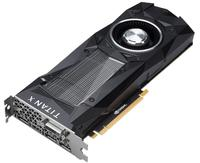 Видеокарта NVIDIA TITAN X (Pascal)  (GP-102)Для Дома<br>Архитектура GPU PascalФреймбуфер 12 GB G5XБыстродействие памяти 10 GbpsТактовая частота с ускорением Фактическая 1531 MHz<br>