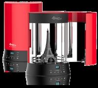 XYZprinting Камера УФ-отверждения Curing ChamberАксессуары для 3D принтеров<br>Полезная нагрузка на поворотный стол (макс.):&amp;nbsp;1,5 кг;Источник света:&amp;nbsp;Уф-светодиод &amp;lambda; 385 нм;Мощность УФ-светодиодной лампы:&amp;nbsp;16 Ватт;Время отверждения:&amp;nbsp;1-60 минут;Габариты:&amp;nbsp;25,5 x 25,5 x 35,2 см;Адаптер питания:&amp;nbsp;DC IN 24 В, 2,5 А..<br>