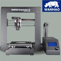 3D принтер Wanhao Duplicator i3 v 2.13D Принтеры<br>3D принтер Wanhao Duplicator i3 v 2.1:&amp;nbsp;Назначение: ПерсональныйПроизводитель: WanhaoСтрана: КитайТехнология печати: FDM/FFF - Моделирование методом наплавленияКоличество печатающих головок: 1Диаметр сопла (мм): 0,4Температура экструдера: до 260 CОбласть построения (мм): 200 x 200 x 180Максимальное разрешение (микрон): 100 (0,1 мм)Платформа: с подогревомТемпература платформы: до 100 CИнтерфейс подключения: USBОперационные системы: Windows (XP32bit/7/8+), Linux (12.04+), Mac OS (10.6 64bit+)Програмное обеспечение: В комплектеПоддерживаемые форматы файлов: STL, OBJ, DAE, AMFДисплей: OLEDМатериалы для печати: ABS, PLA, PVA, FLEX, Laybrick, Nylon и др.Диаметр нити (мм): 1.75Вес (кг): 10Электропитание: 110-240 ВГарантия: 12 месяцевРазмеры (мм): 400 x 410 x 400Акция! Настройка, Доставка и Обучение в подарок.<br><br>Кол-во экструдеров: 1<br>Область построения (мм): 200х200х180<br>Толщина слоя: 100 микрон<br>Толщина нити: 1,75 мм<br>Расходники: ABS, PLA, PVA, FLEX, Laybrick, Nylon и др.<br>Платформа: с подогревом<br>Гарантия: 1 год<br>Страна производитель: Китай<br>Диаметр сопла (мм): 0,4