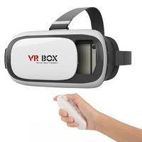 Очки виртуальной реальности VR BOX 2.0 + пульт д/уВиртуальная реальность<br>Высокотехнологические развлечения нового поколения начинаются с очков виртуальной реальности. Они помогут превратить ваши любимые телесериалы или видеоигры в увлекательное путешествие, при этом вы испытаете невероятные и неведомые до сих пор ощущения, даже если вы выбрали для просмотра свой старый фильм или ролик.&amp;nbsp;<br>