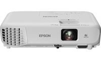 Мультимедийный проектор EPSON EB-W05Проекционное оборудование<br>Характеристики:Технология: LCD: 3&amp;times;0.59&amp;Prime; P-Si TFTРазрешение: WXGA (1280&amp;times;800)Яркость: 3300&amp;nbsp;ANSI lmЦветовая яркость: 3300&amp;nbsp;ANSI lmКонтрастность: 15000:1Зум&amp;nbsp;1,2х (оптический)Передача изображения по&amp;nbsp;беспроводной сети Wi-fi (опционально)Автоматическая коррекция вертикальных трапецеидальных искаженийБыстрая коррекция горизонтальных трапецеидальных искажений ручкой-слайдеромФункция Quick CornerВозможность просмотра изображений напрямую с&amp;nbsp;USB носителейФункция копирования настроек и&amp;nbsp;обновления прошивки через USBUSB Display 3-в-1&amp;nbsp;&amp;mdash; передача изображения, звука и&amp;nbsp;сигналов управления по&amp;nbsp;USB кабелюФункция Split ScreenПрямое подключение к&amp;nbsp;документ-камере Epson ELPDC07Встроенный динамик 2&amp;nbsp;ВтФронтальный вывод теплаМоментальное выключениеВес: 2,5&amp;nbsp;кг<br>