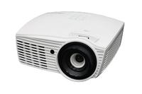 Мультимедийный проектор Optoma EH415STМультимедийные проекторы<br>Короткофокусный проектор Optoma EH415ST рекомендован для установки в учебных аудиториях, конференц-залах, офисах и школах.Особенности Optoma EH415STбольшое изображение с близкого расстояния - диагональ 100 дюймов при установке проектора в метре от экрана или стенывоспроизведение 3D контента в оригинальном качестве с практически любого 3D источника, включая 3D Blu-ray, поддержка формата 144 Гцвстроенный динамик 10 Втудаленное управление по RS232, совместимость с протоколом AMX - Dynamic Discovery и ПО Crestron RoomView?энергосберегающие технологии, позволяющие оптимизировать потребление электроэнергии и продлить срок службы лампы до 7000 часовфункция моментального включения и автоматического выключениярежим Eco AV Mute<br><br>Объектив: Короткофокусный<br>Тип устройства: DLP<br>Класс устройства: портативный<br>Рекомендуемая область применения: для офиса<br>Реальное разрешение: 1920x1080 (Full HD)