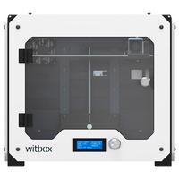 3D Принтер BQ WitBox White3D Принтеры<br>3D Принтер WitBoxКол-во головок: 1Обл.печати: 297 x 210 x 200Расходники: ABS, PLA, PVA 1.75ммТолщина слоя: 100-300 микронСкорость печати: 80 мм/секСтрана производитель: ИспанияГабариты, мм: 450 x 505 x 388<br><br>Кол-во экструдеров: 1<br>Область построения (мм): 297x210x200<br>Толщина слоя: 200 микрон<br>Толщина нити: 1,75 мм<br>Расходники: ABS, PLA, PVA<br>Платформа: без подогрева<br>Гарантия: 1 год<br>Страна производитель: Испания<br>Диаметр сопла (мм): 0.4 мм