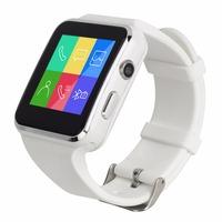 Умные часы Smart Baby Watch X6 БелыеСмарт-часы<br>ХАРАКТЕРИСТИКИ SMART BABY WATCH X6Тип процессора: MTK6260AПамять: 128 мб встроенной памятиПоддержка карты памяти, емкостью до 32 гб.Диагональ: 1.54 дюйма,IPS Разрешение: 240 x 240 пикселей&amp;nbsp;Емкость: 450 mAhВремя работы в режиме ожидания до 7 днейВремя работы в активном состоянии до 2 дней.Поддержка технологии Bluetooth 3.0Камера: 0.3 мегапикселя&amp;nbsp;Анализ пройденного расстояния, шагов, израсходованных калорий мониторинг снаОбщение через соц-сети.Совместимость с Android и&amp;nbsp;iOS<br>