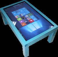 Интерактивный стол Interactive Project Touch 55 (10 касаний, диагональ 140 см)Интерактивные столы <br>РАЗВИВАЮЩЕЕ ПРОГРАММНОЕ ОБЕСПЕЧЕНИЕ УСТАНОВЛЕННОЕ НА ИНТЕРАКТИВНОМ СТОЛЕ:1. Набор из 288 развивающих игр и интерактивных заданий, для обучения 3-5 -летнего ребёнка счёту и чтению, тренировки внимания, памяти и развитию логического мышления.В комплект включены игры, пазлы и раскраски, знакомящие детей с окружающим миром, а также интерактивные пособия по русскому языку и арифметике: Знакомство с буквами, чтение односложных слов, двусложных слов, сборка слова из слогов, рисовалка, перемена, семи цветик, где что, кто за забором, разложи по порядку, кроха и машины, сделай сам, направления, пошуми, не такой, половинки, цвета, сложи сам, на кого похож, циферки, что длиннее, что выше, что шире, угадай кто это, разложи, подели, азбука, где эта буква, что потерялось, наряди елку, на что это похоже, кто кому позвонил, третий лишний, похожи, нарисуй картину, собери игрушки, повтори узор, чьи это половинки, дорога к дому, покажи.Упражнения: Сложение чисел, вычитание чисел, состав числа, сравнение групп объектов, сравнение чисел и т.д.Все управление заданиями сводится к простым и всем знакомым движениям пальца или стилуса по экрану, точно как на любом планшете или ином сенсорном устройстве.2. Интерактивный тренажёр Правила дорожного движения для дошкольников включает&amp;nbsp;набор из 25 игр-заданий&amp;nbsp;для знакомства ребёнка с правилами дорожного движения и основными знаками, его регулирующими.Программа снабжена интуитивно понятным интерфейсом. Дополняющие программу плакаты позволяют наглядно объяснить или напомнить ребёнку перед занятиями рассматриваемый материал.Программное обеспечение Правила дорожного движения для детей включает в себя следующие задания: Выдели, подели на группы, не то, кто из них, что лишнее, верно не верно, обойди, хороший плохой, светофор, пешеход, командир улицы, собери сам, раскрась правильно, что это, дорога к дому, сможешь узнать, парочки, это та