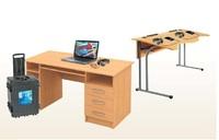 Лингафонный кабинет Норд М-2 (на 15 мест)Лингафонный кабинет<br>Комплектация Норд М-2:Особопрочный кейс или специальная телега-хранилище;Мобильный компьютер преподавателя (ноутбук);Мобильные устройства учеников (планшет, нетбук, ноутбук и т.п.);Програмное обеспечение;Комплект соединительных кабелей;Комплект документации.Основные режимы работы ПО преподавателя:Обратиться ко всем.Разбиение на группы.Источники учебного материала.Работа в группах.Виртуальный магнитофон.Обмен сообщениями.Веб-браузер.Создание скриптов.Экзаменационный модуль.Быстрый опрос.<br>