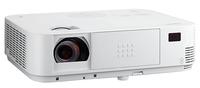 Мультимедийный проектор NEC M403WМультимедийные проекторы<br>Проектор NEC M403W рекомендован для установки в учебных аудиториях, конференц-залах, офисах и школах.<br><br>Объектив: Стандартный<br>Тип устройства: DLP<br>Класс устройства: портативный<br>Рекомендуемая область применения: для офиса<br>Реальное разрешение: 1280x800