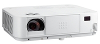Мультимедийный проектор NEC M403XМультимедийные проекторы<br>Проектор NEC M403X рекомендован для установки в учебных аудиториях, конференц-залах, офисах и школах.<br><br>Объектив: Стандартный<br>Тип устройства: DLP<br>Класс устройства: портативный<br>Рекомендуемая область применения: для офиса<br>Реальное разрешение: 1024x768
